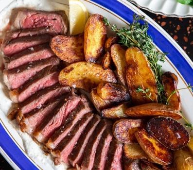 Cinder Grill NY Strip Recipe